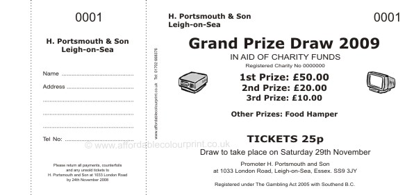 Search results for free printable raffle tickets sheets for Office depot raffle ticket template