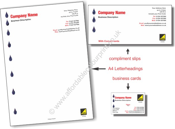 GAS SAFE: BUSINESS PACK For Gas Safe Registered Plumbers and Heating Engineers - REF102