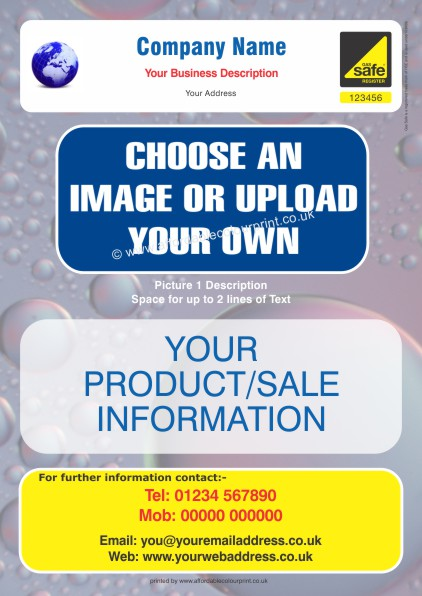 HEATING AND PLUMBING TRADE: GAS SAFE A4 LEAFLET 002