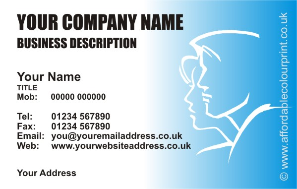 HUMAN RESOURCES: HUMAN RESOURCE BUSINESS CARD DESIGN REF351