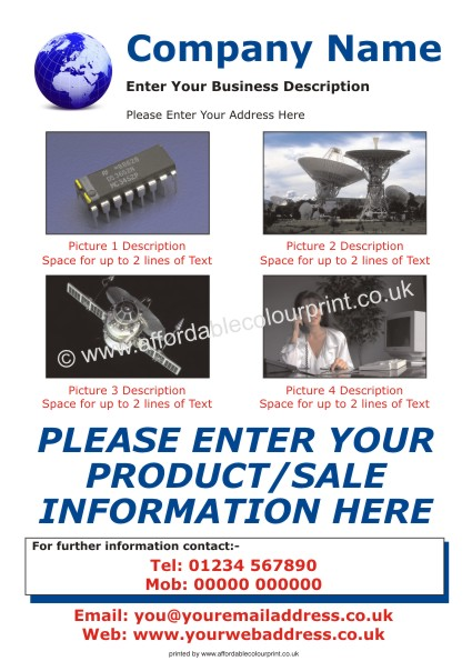 LOW COST LEAFLETS: A5 LEAFLET 001